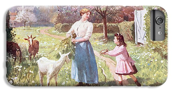 Easter Eggs In The Country IPhone 6 Plus Case by Victor Gabriel Gilbert