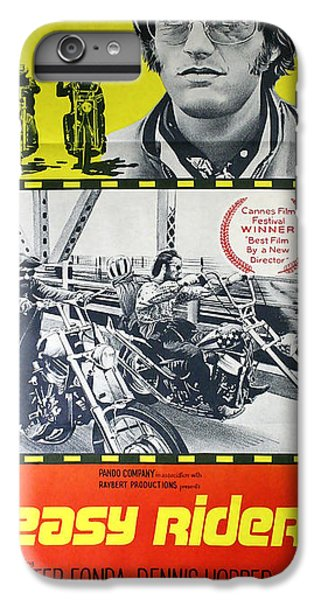 Easy Rider Movie Lobby Poster  1969 IPhone 6 Plus Case