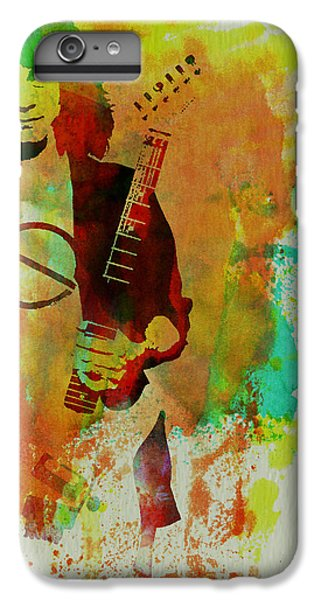 Eddie Van Halen IPhone 6 Plus Case by Naxart Studio