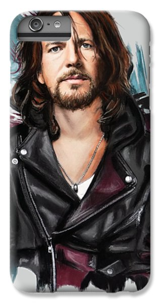 Eddie Vedder IPhone 6 Plus Case by Melanie D
