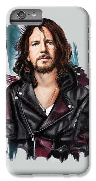 Eddie Vedder IPhone 6 Plus Case by Melanie D