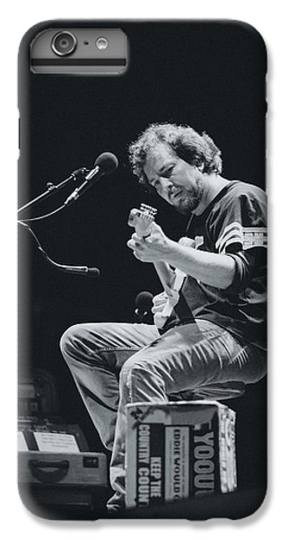 Eddie Vedder Playing Live IPhone 6 Plus Case by Marco Oliveira