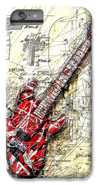Eddie's Guitar 3 IPhone 6 Plus Case by Gary Bodnar
