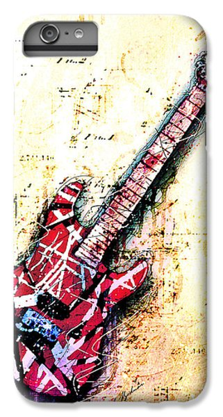 Eddie's Guitar Variation 07 IPhone 6 Plus Case by Gary Bodnar