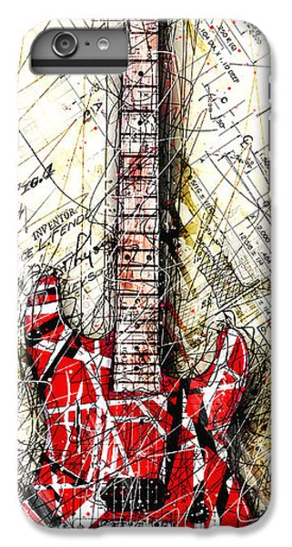 Eddie's Guitar Vert 1a IPhone 6 Plus Case by Gary Bodnar