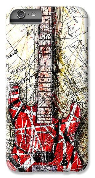 Eddie's Guitar Vert 1a IPhone 6 Plus Case by Gary Bodnar