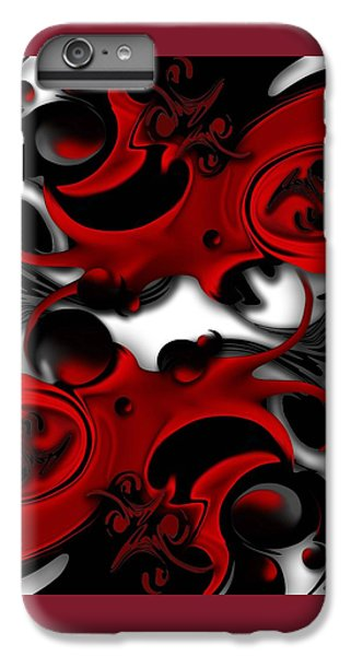 IPhone 6 Plus Case featuring the digital art Effective Form Constructed by Carmen Fine Art