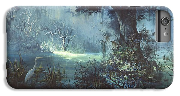 Egret iPhone 6 Plus Case - Egret In The Shadows by Michael Humphries