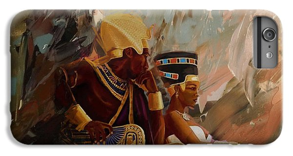 Phoenix iPhone 6 Plus Case - Egyptian Culture 44b by Corporate Art Task Force