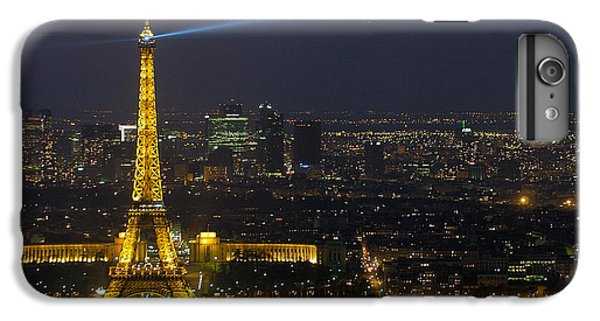Eiffel Tower At Night IPhone 6 Plus Case by Sebastian Musial