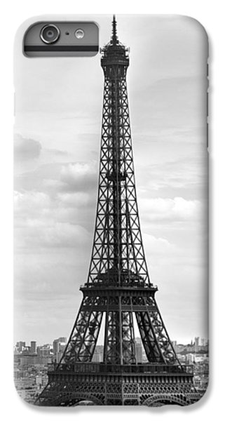 Eiffel Tower Black And White IPhone 6 Plus Case