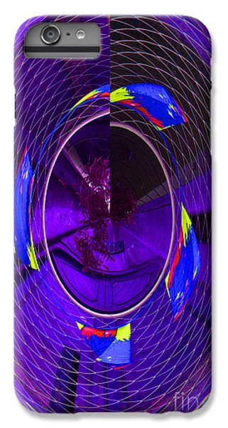 IPhone 6 Plus Case featuring the photograph Electric Blue by Nareeta Martin
