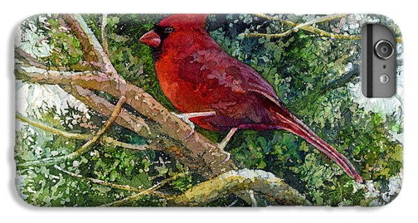 Elegance In Red IPhone 6 Plus Case by Hailey E Herrera