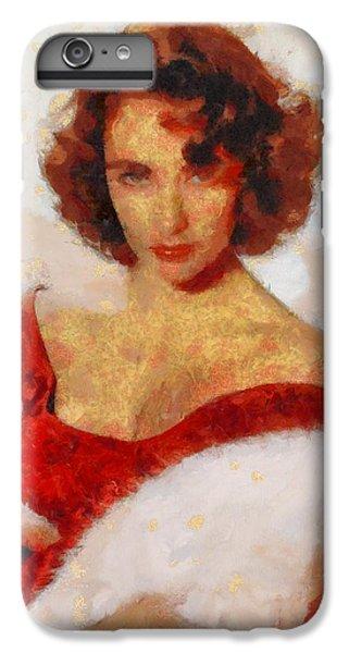 Elizabeth Taylor Actress IPhone 6 Plus Case