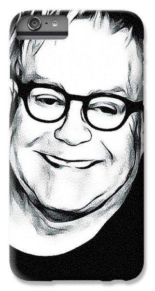 Elton John Black And White IPhone 6 Plus Case by Yury Malkov
