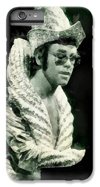 Elton John iPhone 6 Plus Case - Elton John By John Springfield by John Springfield