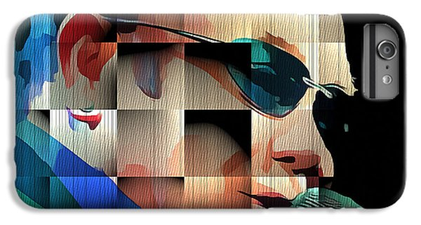 Elton John iPhone 6 Plus Case - Elton John In Cubes 1 by Yury Malkov