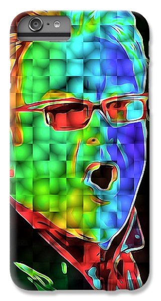 Elton John In Cubes 2 IPhone 6 Plus Case by Yury Malkov