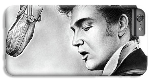 Rock And Roll iPhone 6 Plus Case - Elvis Presley by Greg Joens