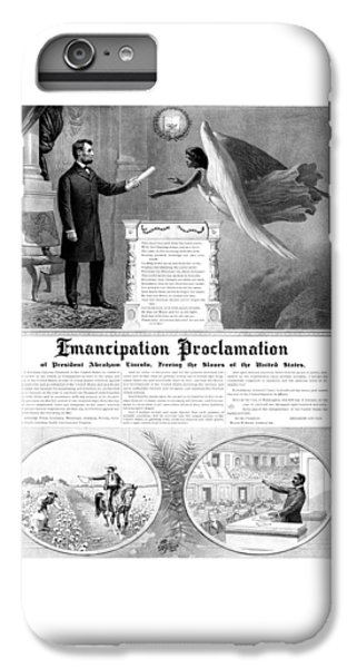 Emancipation Proclamation IPhone 6 Plus Case by War Is Hell Store