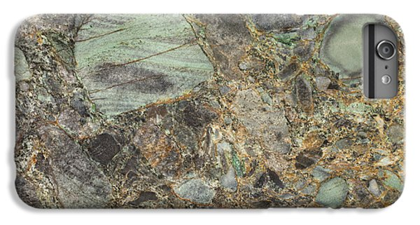 Emerald Green Granite IPhone 6 Plus Case by Anthony Totah