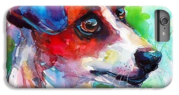 iPhone 6 Plus Case - Emotional Jack Russell Terrier by Svetlana Novikova