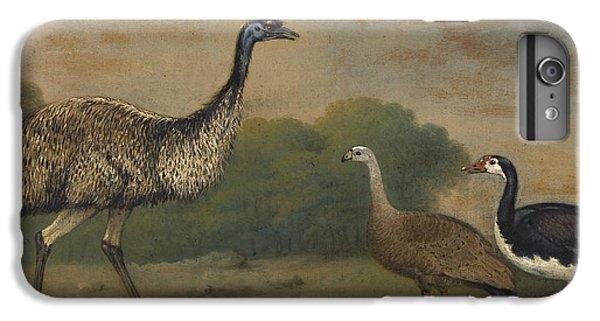 Barren iPhone 6 Plus Case - Emu, Cape Barren Goose And Magpie Goose by Henry Bernard Chalon