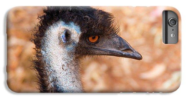 Emu iPhone 6 Plus Case - Emu Profile by Mike  Dawson