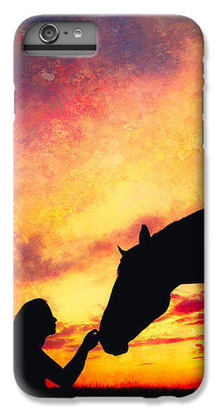 Equine Sunset IPhone 6 Plus Case by Debi Bishop