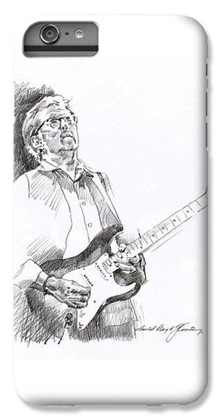 Eric Clapton Joy IPhone 6 Plus Case by David Lloyd Glover