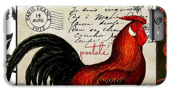 Europa Rooster II IPhone 6 Plus Case by Mindy Sommers