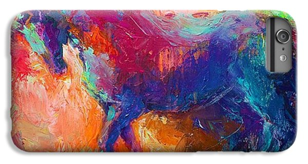 Expressive Stallion Painting By IPhone 6 Plus Case