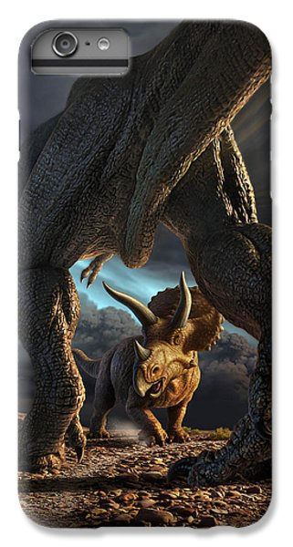 Face Off IPhone 6 Plus Case by Jerry LoFaro