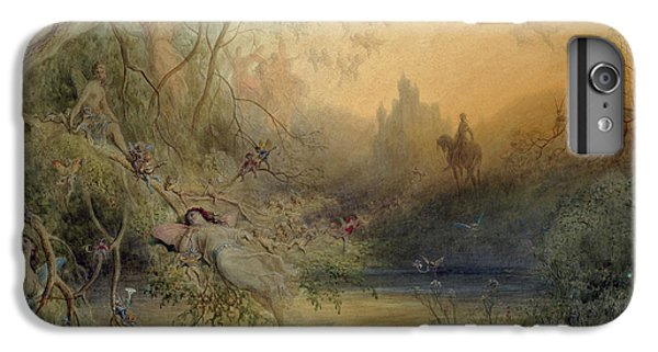 Fairy Land IPhone 6 Plus Case by Gustave Dore
