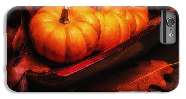 Fall Pumpkins Still Life IPhone 6 Plus Case by Tom Mc Nemar