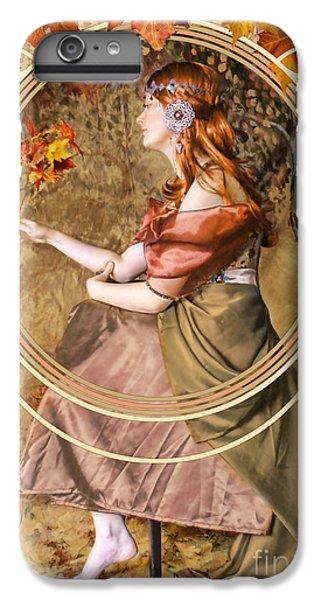Falling Leaves IPhone 6 Plus Case by John Edwards