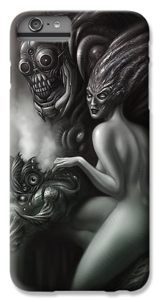 Aliens iPhone 6 Plus Case - Family Portrait by Alex Ruiz