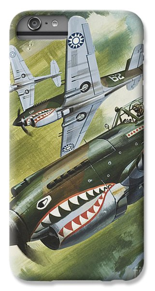 Famous Aircraft And Their Pilots IPhone 6 Plus Case by Wilf Hardy