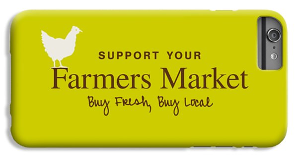 Farmers Market IPhone 6 Plus Case by Nancy Ingersoll