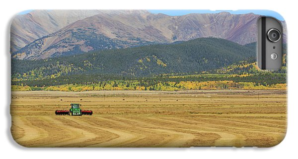 IPhone 6 Plus Case featuring the photograph Farming In The Highlands by David Chandler