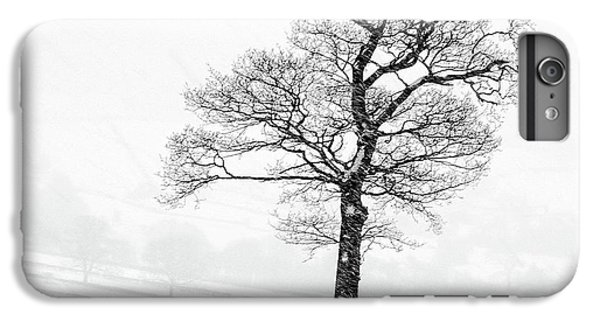 Sheep iPhone 6 Plus Case - Farndale Winter by Janet Burdon