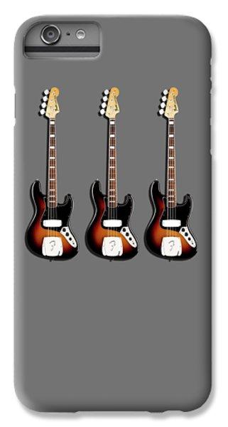 Fender Jazzbass 74 IPhone 6 Plus Case by Mark Rogan