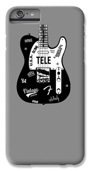 Fender Telecaster 64 IPhone 6 Plus Case by Mark Rogan