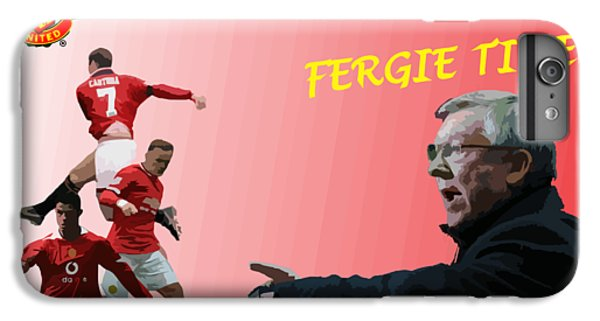Wayne Rooney iPhone 6 Plus Case - Fergie Time by Blue Crescent Studio
