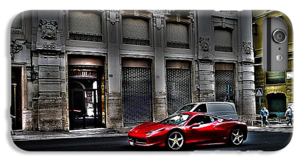 Ferrari In Rome IPhone 6 Plus Case by Effezetaphoto Fz