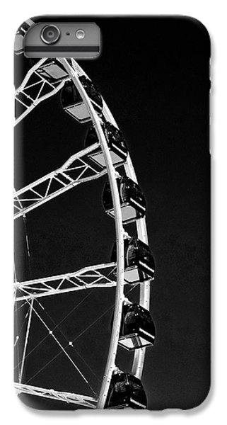 Ferris Wheel At Navy Pier, Chicago No. 1-2 IPhone 6 Plus Case by Sandy Taylor