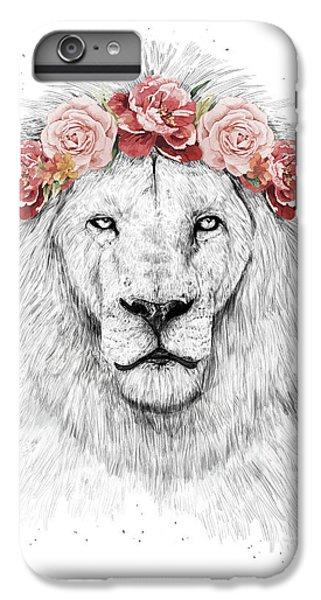 Nature iPhone 6 Plus Case - Festival Lion by Balazs Solti