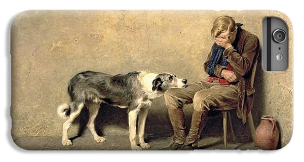 Dog iPhone 6 Plus Case - Fidelity by Briton Riviere