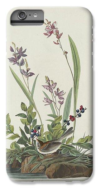 Field Sparrow IPhone 6 Plus Case by Anton Oreshkin