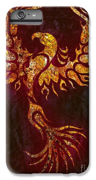 Phoenix iPhone 6 Plus Case - Fiery Phoenix by Robert Ball